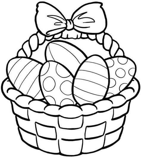 easter coloring pages free printable easter coloring activities kindergarten coloring page