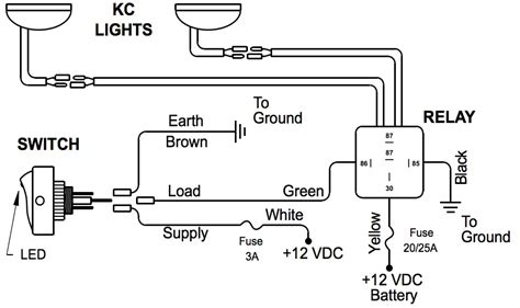 wiring diagram for kc daylighters free wiring