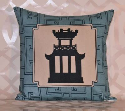 Decorative Instincts At Etsy by Aesthetic Oiseau Etsy Find Pagoda Pillows