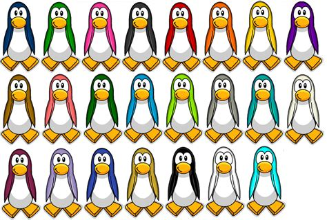 what color are penguins dragonpingicp january 2013