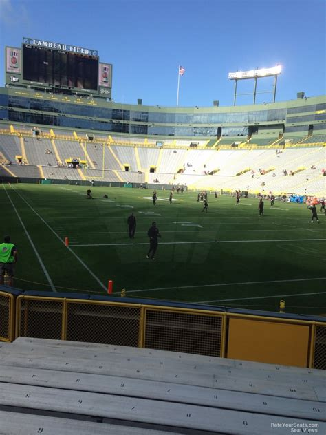 Lambeau Field Section 134 by Lambeau Field Section 134 Rateyourseats