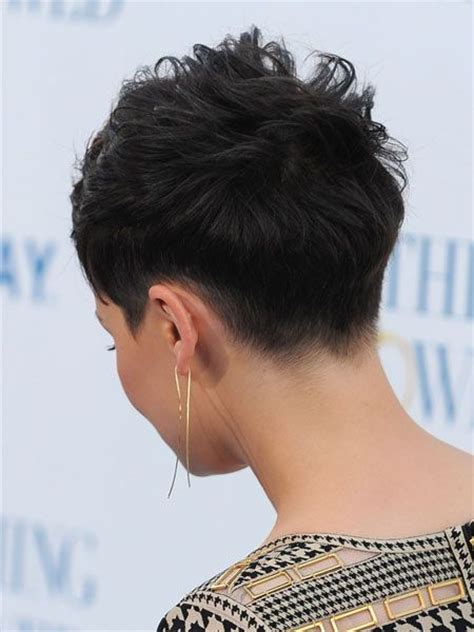 back short hair shots the 25 best ideas about shaved pixie cut on pinterest