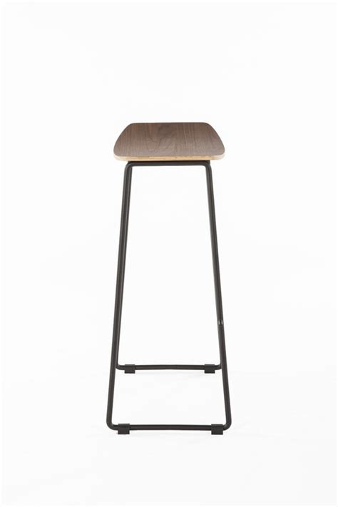 Bar Stools Bend wood bend barstool modern furniture brickell collection