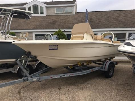 used scout boats for sale in ma 2017 scout 195 sportfish falmouth massachusetts boats