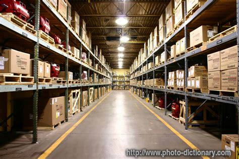 warehouse photopicture definition  photo dictionary