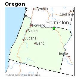 best places to live in hermiston oregon