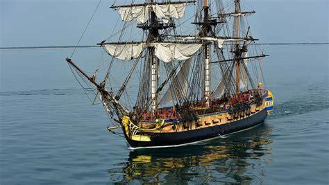 bateau hermione corse l hermione une r 233 plique parfaite 224 quelques d 233 tails pr 232 s