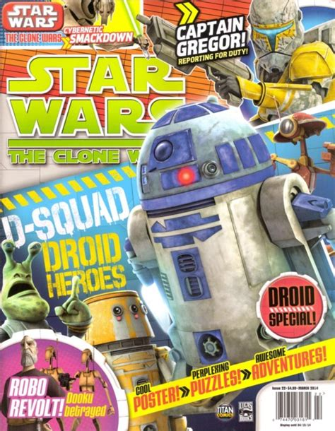 ambush mag volume 31 issue 18 2013 star wars the clone wars magazine volume comic vine