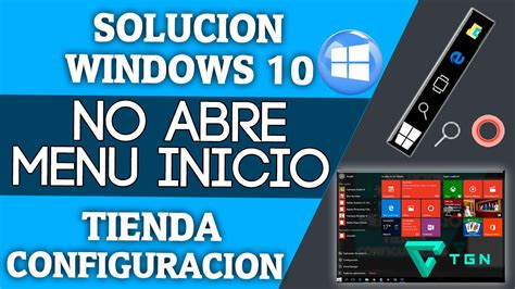 no abre imagenes windows 10 soluci 211 n windows 10 no abre menu inicio tienda