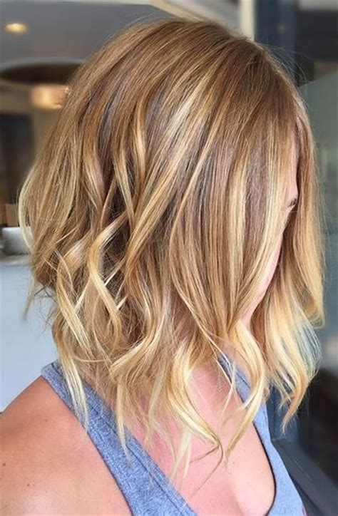 Trendy Haircuts Ideas Strawberry Bronde Balayage Bob By Kellymassiashair Balayage Vs Ombre What Is A Balayage And An Ombre Which Is Best