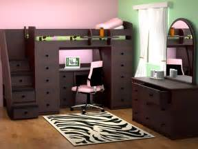 space saving desk bed loft bed with desk underneath kids furniture ideas