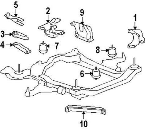 factory gmc parts buy gmc 25840458 genuine oem factory original strut mount