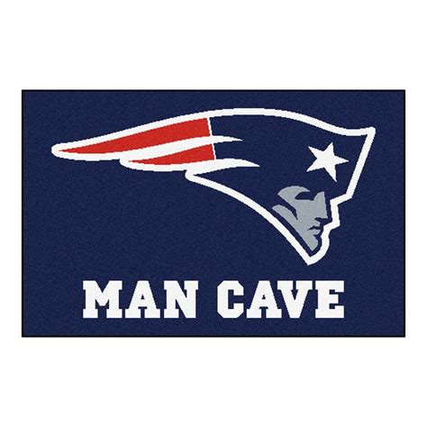 Patriots Area Rug Fanmats Nfl New Patriots Blue Cave 1 Ft 7 In X 2 Ft 6 In Accent Rug 14333 The