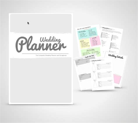 Wedding Planner Organizer by Wedding Planner Book Wedding Organizer Print By