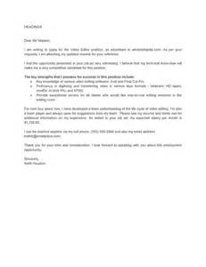 cover letter editing service cover letter for editor position