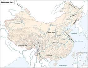 Rivers In China Map by China Maps Map Of China China Map In English China City