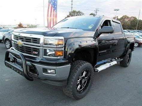 2014 chevy silverado 1500 alc z92 lifted truck
