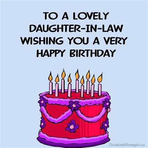 Wishing Happy Birthday To In Birthday Wishes For Daughter In Law Occasions Messages