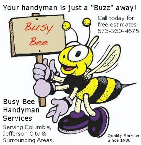 Revised Phone Number Lookup Busy Bee S Handyman Service