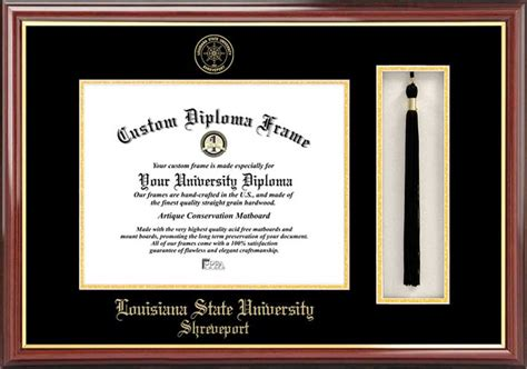 Lsus Mba Diploma by Louisiana State Shreveport Diploma Frames