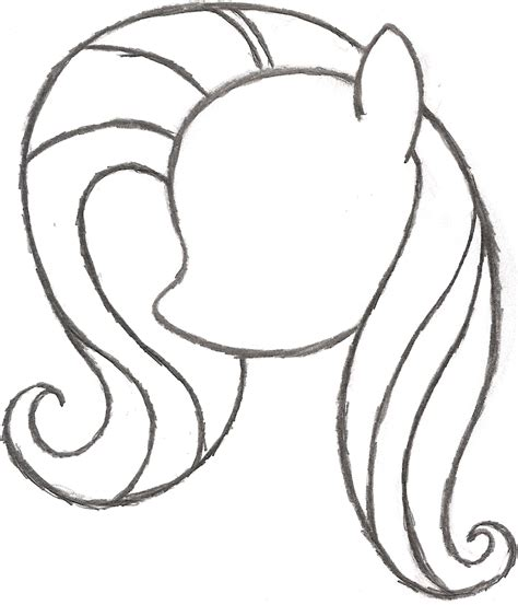 easy pony coloring pages step by step how to draw a my little pony google search