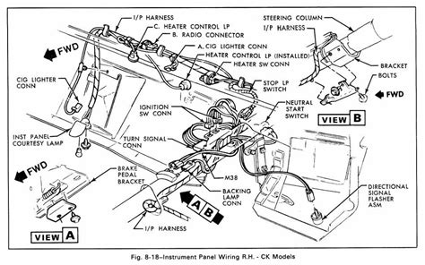1965 chevy c10 dash wiring diagram wiring diagrams