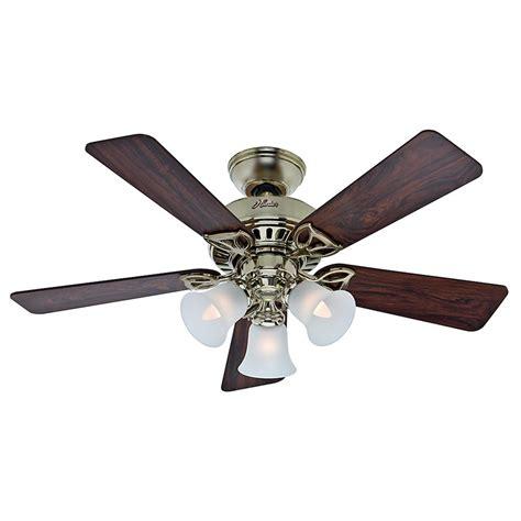Bright Ceiling Fan Light Fan Company The Beacon Hill Bright Brass Ceiling Fan With Light 53080 Destination