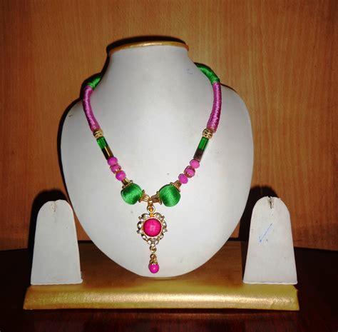 Handmade Thread Jewellery - handmade silk thread jewellery wanted resellers for our