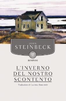 linverno del nostro scontento l inverno del nostro scontento john steinbeck recensioni di qlibri