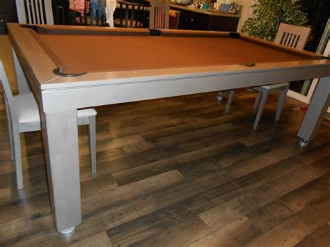 Convertible Pool Dining Table Western Convertible Billiards