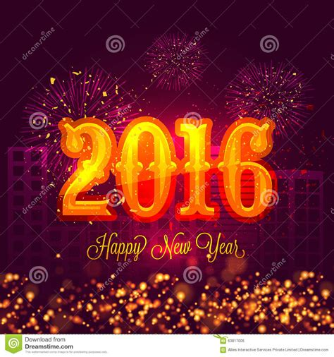 creative happy new year 2016 creative text for happy new year 2016 stock photo image