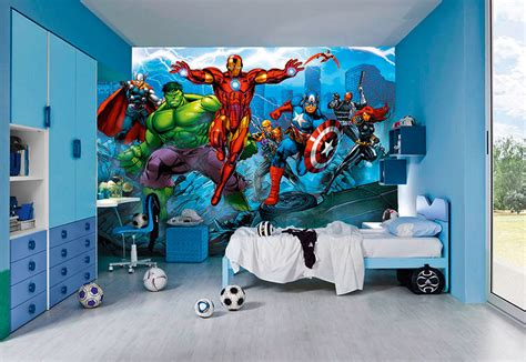 superhero wallpaper for bedroom superhero wallpaper bedroom super hero wall murals