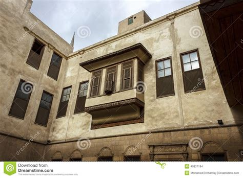 islamic design house egypt beit as suhaymi typical house in islamic cairo stock photo image 49837194