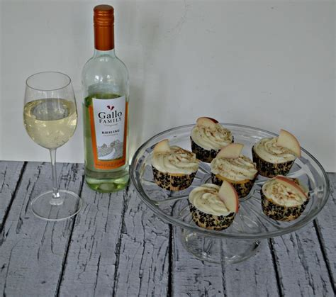 peachy criminals sweet bakery books brown butter grilled cupcakes with riesling frosting