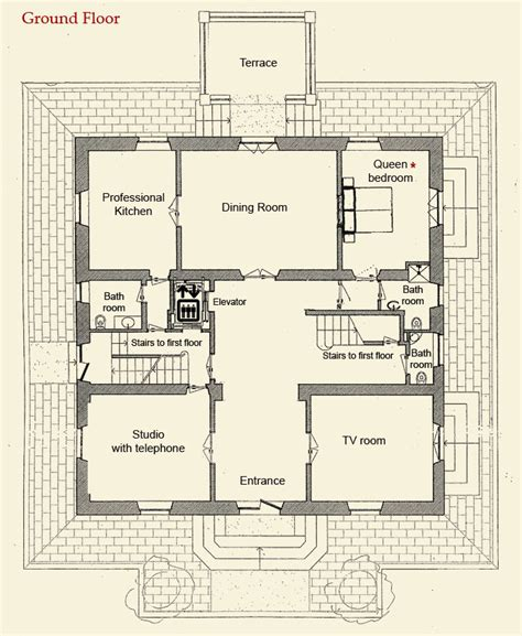 tuscan villa floor plans villa cristina private tuscany villa with swimming pool