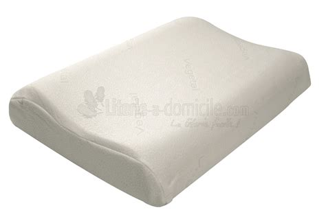 oreillers memoire de forme oreiller pilo vegetal de drouault mousse 224 m 233 moire de forme
