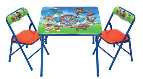 paw patrol table paw patrol activity table and chairs by only