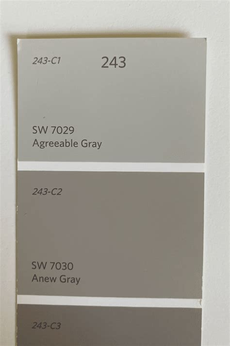 anew gray paint color love remodeled