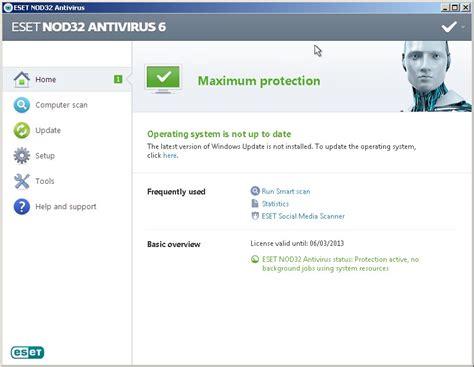 bagas31 antivirus eset nod32 antivirus 6 full