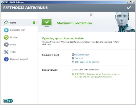 bagas31 virus eset nod32 antivirus 6 full