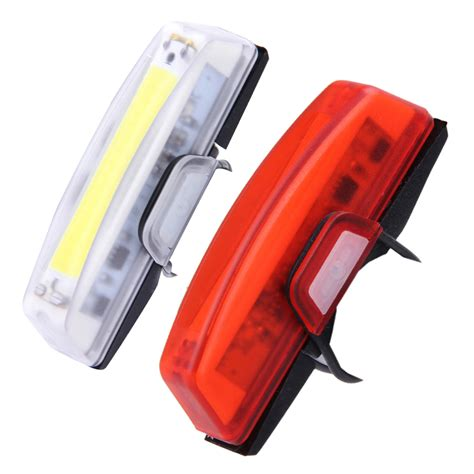 best usb rechargeable rear bike light aliexpress com buy 100 lumens usb rechargeable bicycle
