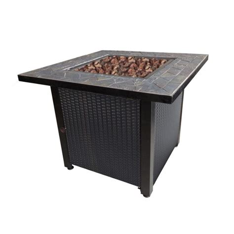 Shop Endless Summer 30 In W 50 000 Btu Oil Rubbed Bronze Gas Firepit Tables