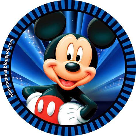 imagenes infantiles redondas etiqueta redonda mickey mouse mikey pinterest