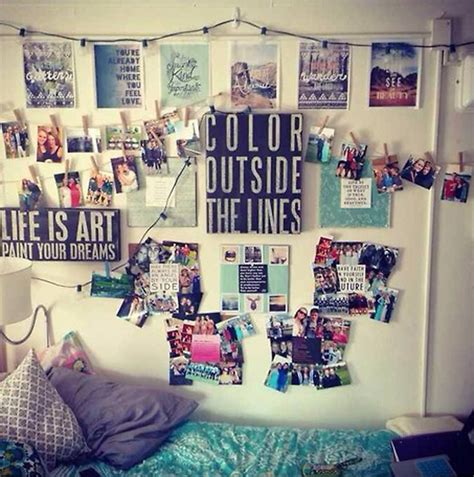 wall decor for dorms 20 cool college room ideas house design and decor