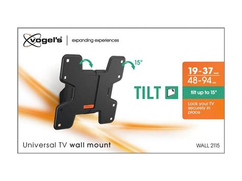 Samsung Tablet 4 10 1 2115 by Vogels Wall 2115 Tv Wandhalterung Schwarz