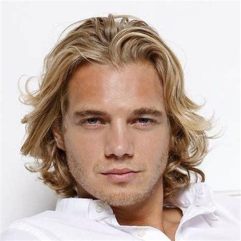 blonde hairstyles  men  long hairstyles