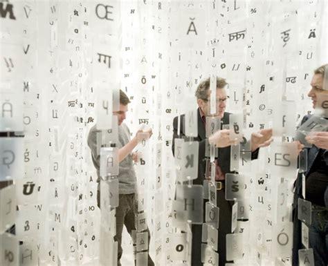 typography exhibition bruno maag shape my language