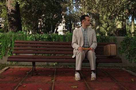 bench history 25 little known facts about forrest gump maverick go