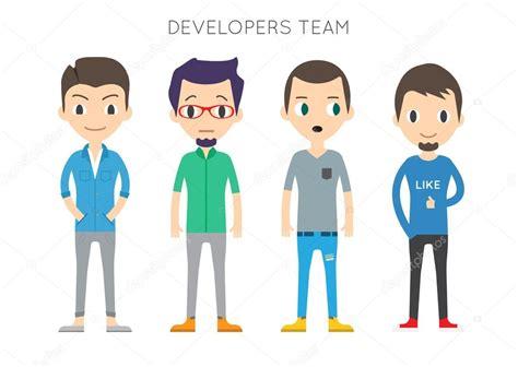 Imagenes Vectoriales Personas | conjunto de personas de diversos vectores hombres