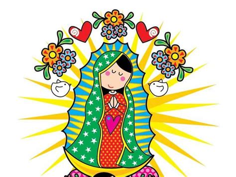 imagenes virgen de guadalupe dibujo imagenes de la virgen de guadalupe en caricatura para
